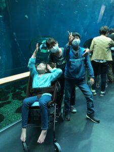 琵琶湖博物館に行きました